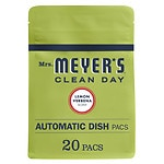 Mrs. Meyer's Clean Day Automatic Dishwashing Packs, 20 Loads, Lemon Verbena- 20 Each