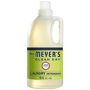 Mrs. Meyer's Clean Day Laundry Detergent, 64 Loads, Lemon Verbena