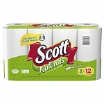 Scott Naturals Paper Towels, Choose-a-Size, Mega Roll