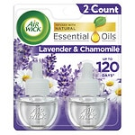 Air Wick Scented Oil Twin Refill, Relaxation, Lavender & Chamomile- 2 ea