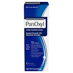 PanOxyl Acne Foaming Wash 10% Benzoyl Peroxide