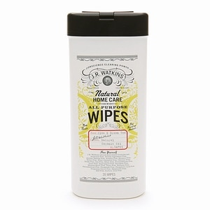 J.R. Watkins Natural Home Care Aloe & Green Tea All Purpose Wipes, 35 ea