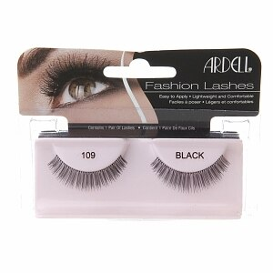 Ardell Fashion Lashes, Black, Style 109- 1 pair
