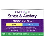 Natrol Stress & Anxiety Day & Nite, Tablets