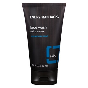 Every Man Jack Face Wash and Pre-Shave, Signature Mint- 5 oz