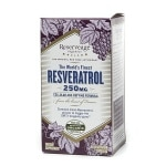ReserveAge Organics Resveratrol, 250mg, Vegetarian Capsules