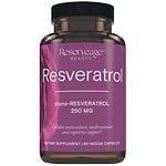 ReserveAge Organics Resveratrol, 250mg, Vegetarian Capsules- 60 ea