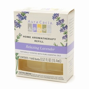Aura Cacia Electric Aromatherapy Air Freshener Refill, Relaxing Lavender- 1 ea