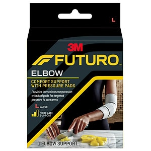 FUTURO Elbow Support with Pressure Pads, Large- 1 ea