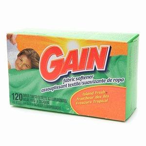 Gain Dryer Sheets, Island Fresh- 120 ea