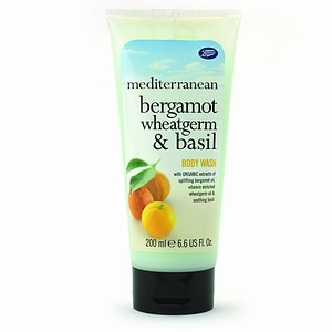 Boots Mediterranean Body Wash, Bergamot, Wheatgerm & Basil