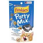 Friskies Cat Treat, Beachside Crunch Party Mix