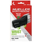 Mueller Green Fitted Wrist Brace, Maximum Support, Right, S/M- 1 ea