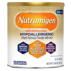Enfamil Nutramigen Lipil for Colic Hypo-Allergenic Powder with Iron, 0-12 months- 12.6 oz