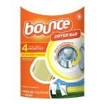 Bounce Dryer Bar Fabric Softener 4 Month Bar, Outdoor Fresh- 1 ea