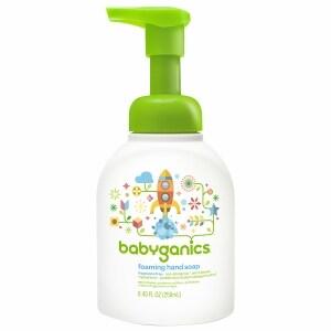 Babyganics Foaming Hand Soap, Fragrance Free- 8.45 oz