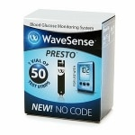 Wavesense Presto, Test Strips- 50 ea