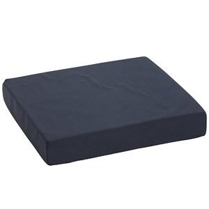 Mabis Standard Polyfoam Wheelchair Cushion, Navy- 1 ea