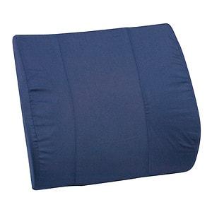 Mabis Lumbar Cushion Contour Bucket, Navy- 1 ea