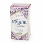 ReserveAge Organics The World's Finest Resveratrol 500 mg- 60 vegetarian capsules