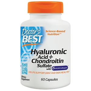 Doctor's Best Hyaluronic Acid with Chondroitin Sulfate, Capsules, 60 ea