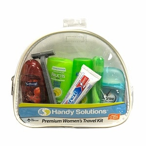 Handy Solutions Premium Women's Travel Kit - TSA Approved, 1 kit