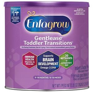 Enfagrow Gentlease Toddler Transitions Powder Stage 2- 21 oz