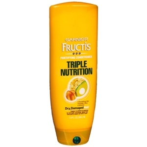 Garnier Fructis Haircare Triple Nutrition Fortifying Cream Conditioner, Dry to Over-Dried or Damaged Hair, 13 fl oz