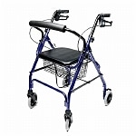 Lumex Walkabout Rollator, Blue