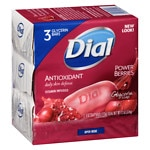 Dial Glycerin Bar Soap, Cranberry & Anti-Oxident