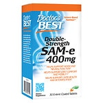 Doctor's Best Double-Strength SAMe 400, Enteric Coated Tablets- 30 ea