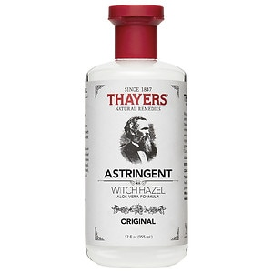 Thayers Original Witch Hazel with Organic Aloe Vera Formula Astringent