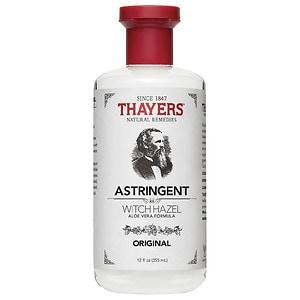 Thayers Original Witch Hazel with Organic Aloe Vera Formula Astringent- 12 fl oz