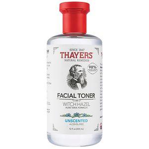 Thayers Alcohol-Free Witch Hazel with Organic Aloe Vera Formula Toner, Unscented