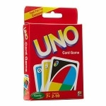 Mattel Uno Card Game, Ages 7+