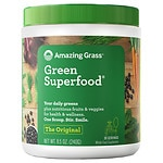 Amazing Grass Green SuperFood All Natural Drink Powder, Original