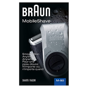 Braun Mobile Shaver Silver M90