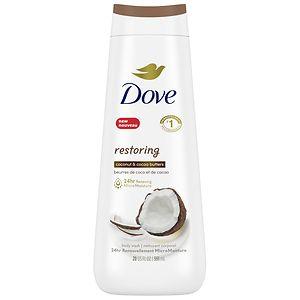 how to use dove body milk