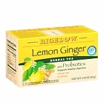 Bigelow Herb Tea plus Probiotics, Lemon Ginger, 18 pk- .08 oz