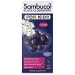 Sambucol Black Elderberry Immune System Support Liquid For Kids,