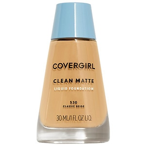 CoverGirl Clean Oil Control Liquid Makeup, Classic Beige 530