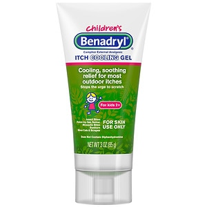 Children's Benadryl Anti-Itch Gel, Original Strength- 3 fl oz
