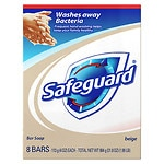 Safeguard Antibacterial Soap Bars- 8 ea