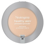 Neutrogena Healthy Skin Pressed Powder Compact SPF 20, Light to Medium 30