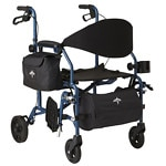 Medline Translator Walker Transport Chair