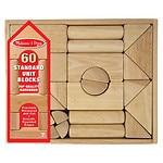 Melissa and Doug Standard Unit Blocks Ages 2 and up