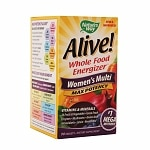 Nature's Way Alive! Whole Food Energizer Women's Multi Max Potency, Tablets