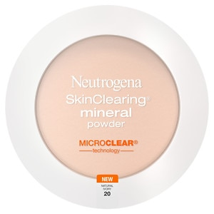 Neutrogena SkinClearing Mineral Powder, Natural Ivory 20