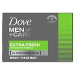 Dove Men+Care Body & Face Bath Bar, Extra Fresh
