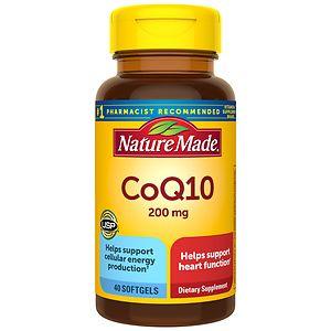 Nature Made CoQ10, 200mg, Liquid Softgels- 40 ea